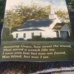 Other - Amazing Grace Woven Blanket